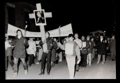 Les disparus, vivants nous les voulons! Marche-célébration Romero 24 mars 1986 (3)