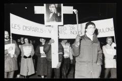 Les disparus, vivants nous les voulons! Marche-célébration Romero 24 mars 1986 (4)