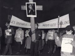 Les disparus, vivants nous les voulons! Marche-célébration Romero 24 mars 1986 (2)
