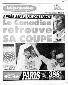 Négociations de paix en Amérique centrale, La Presse, 25 mai 1986, p.12