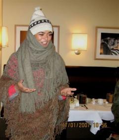 Nancy Yanez. preriodistas, 1er janvier 2007