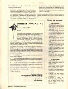 Romero. Caminando, vol.14, no.2, pp.12-13, mars 1994