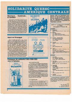 Solidarité Québec-Amérique centrale