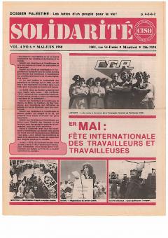 Solidarité, vol.4, no.6 mai-juin 1980