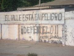 El valle està en peligro, 3 décembre 2006