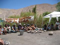 Manifestation contre Pascua Lama, 2