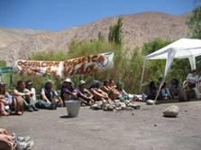 Manifestation contre Pascua Lama, 5