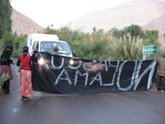 Manifestation contre Pascua Lama,1