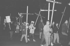 Marche-célébration Romero 24 mars 1990, Montréal (90)