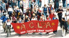 ACLA, Marche des peuples, 21 avril 2001