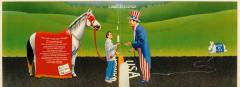 Affiche libre-échange