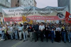 Alliance sociale continentale, Marche des peuples des Amériques, Québec, 21 avril 2001_02