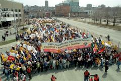 Alliance sociale continentale, Marche des peuples des Amériques, Québec, 21 avril 2001_04