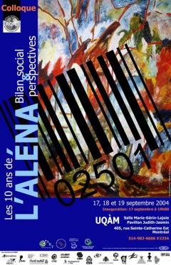 Colloque Les 10 ans de l'ALÉNA par le RQIC, du 17 au 19 septembre 2004