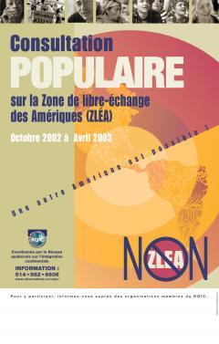 Consultation populaire sur la Zone de libre-échange des Amériques (ZLÉA)
