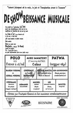 Déshowbéissance musicale, Opération Sal'AMI, mai 1998