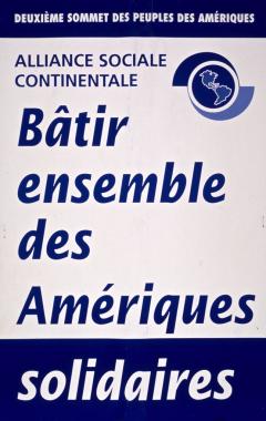 Deuxième Sommet des peuples, Québec, 2001
