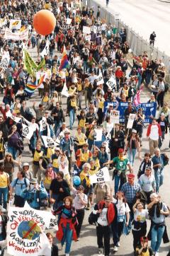 Marche des peuples des Amériques, 21 avril 2001