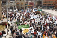 Marche des peuples des Amériques, Québec, 21 avril 2001