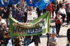 Non à la ZLÉA, Marche des peuples, 21 avril 2001