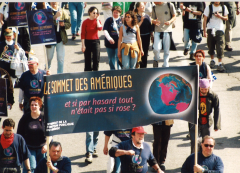Syndicat de la fonction publique, Marche des peuples, 21 avril 2001