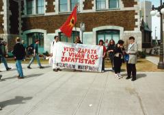 Viva Zapata, Marche des peuples, 21 avril 2001